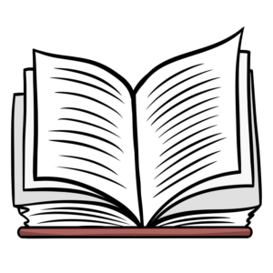 Open Book Clipart: book open top view