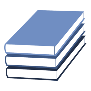 Stacked Book Clipart: stack of falling books