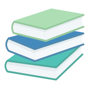 Stacked Book Clipart: messy stack of books