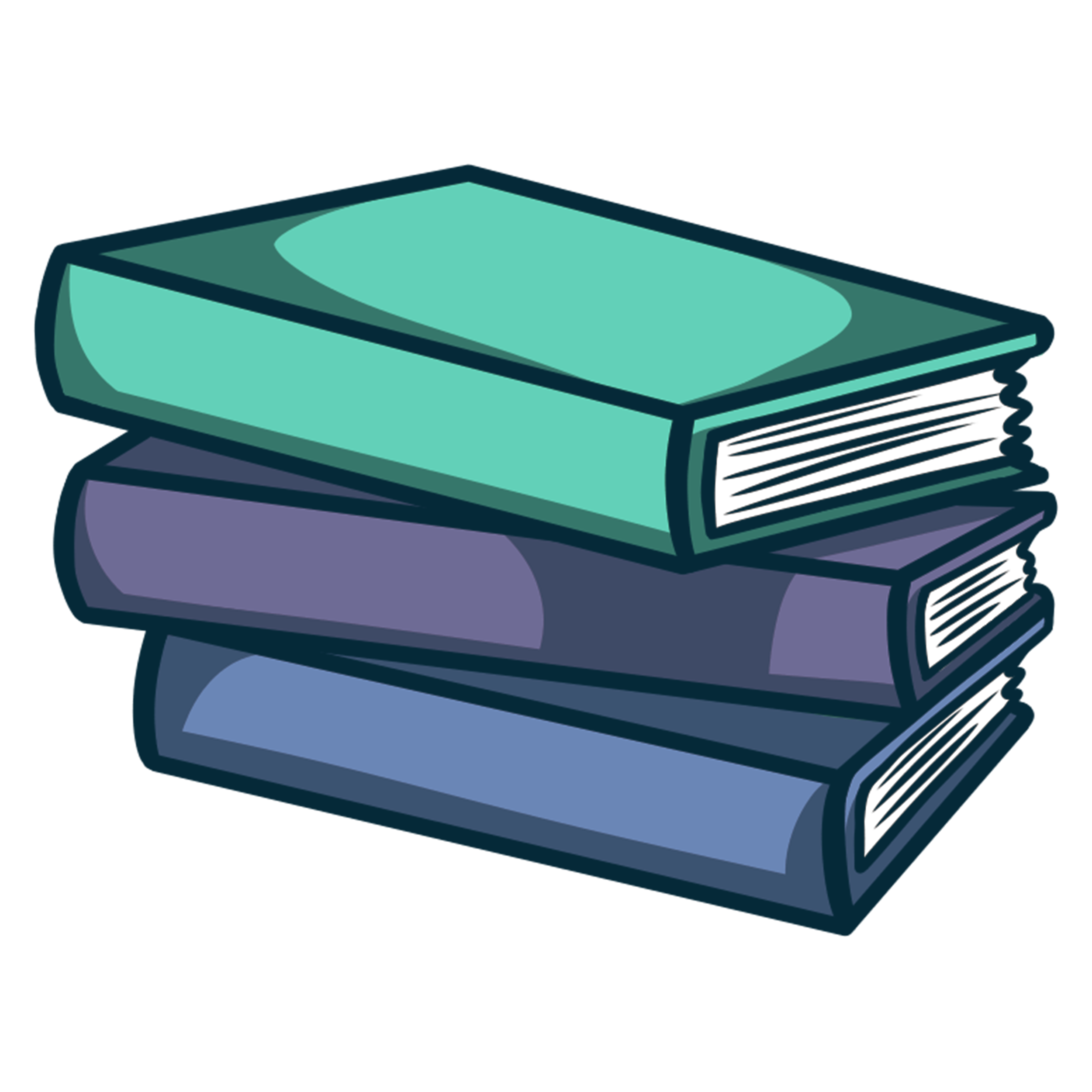clipart books book stacked transparent ebook pdf clip epub messy cliparts let