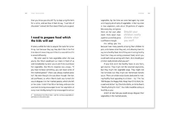 simple book quote design