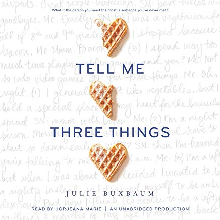 Best Young Adult Audio Books: Tell Me Three Things