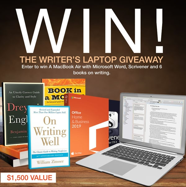 Writer's Laptop Giveaway