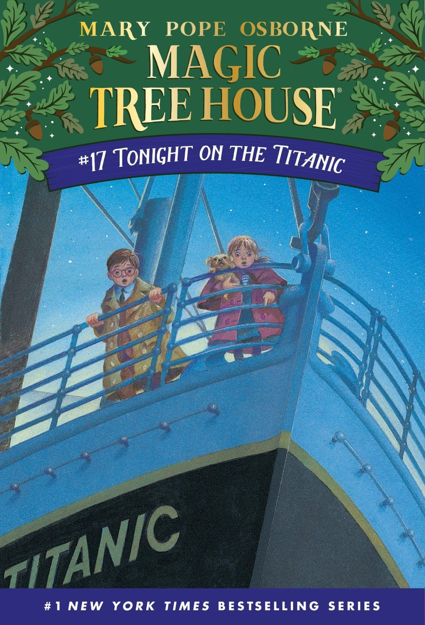 Magic Tree House books 17