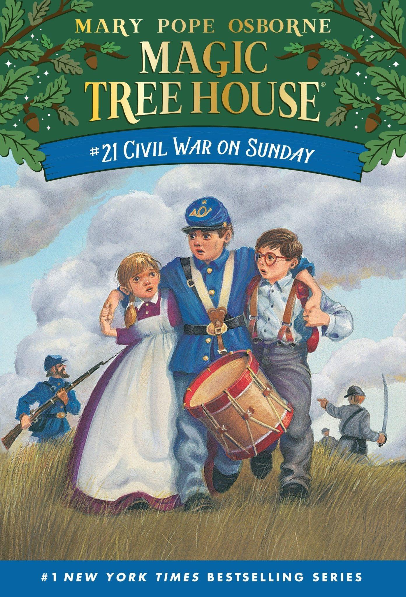 Magic Tree House books 21
