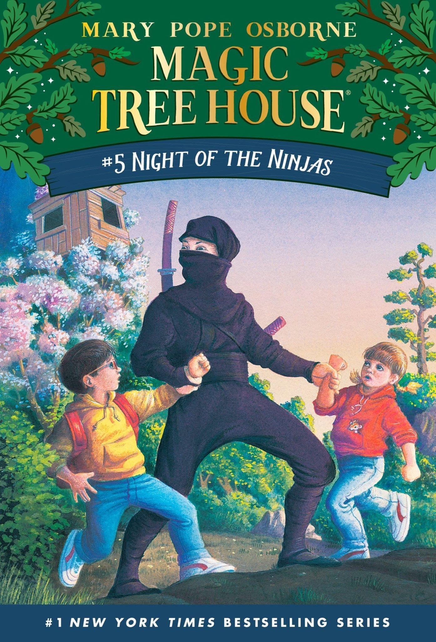 Magic Tree House books 5