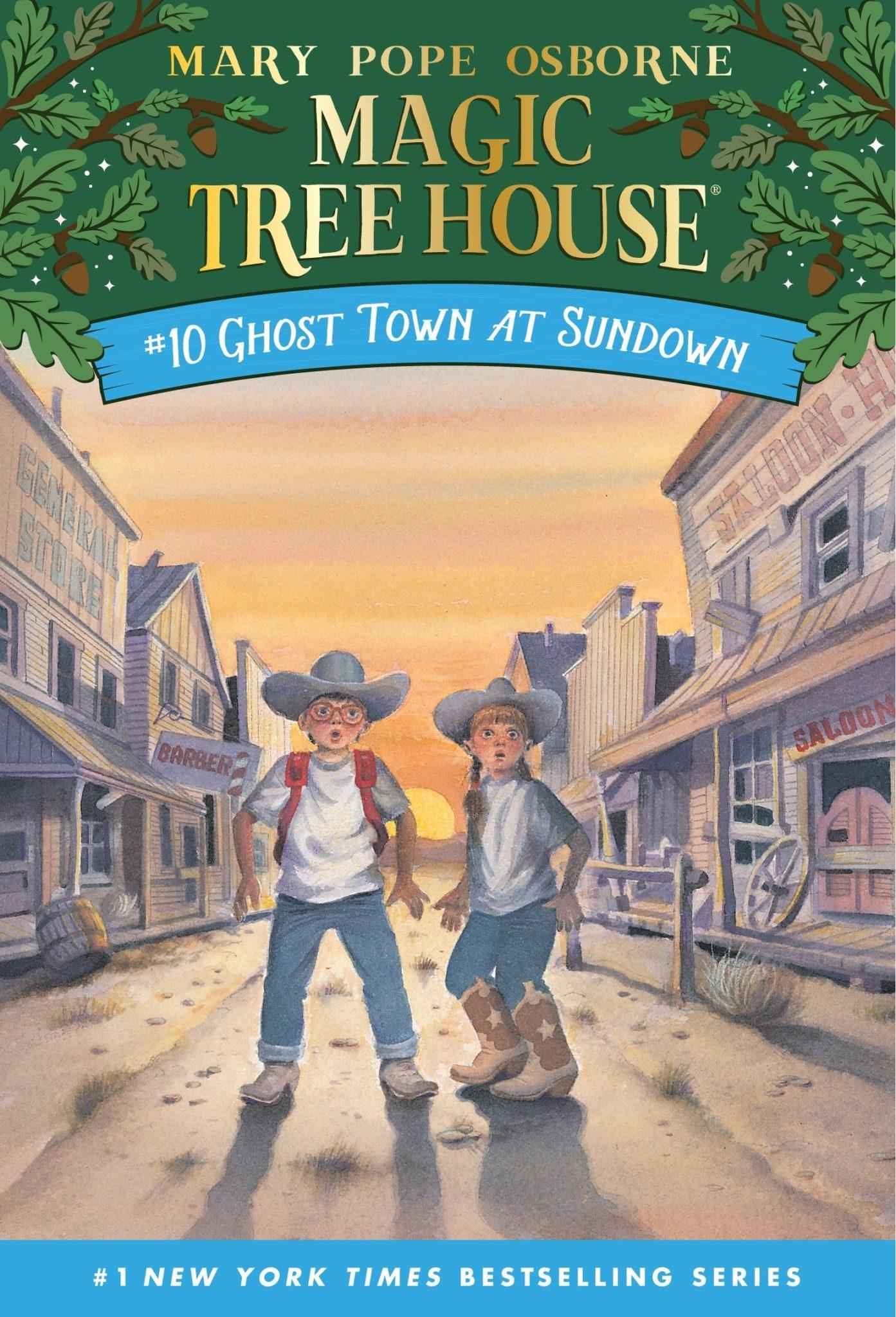 Magic Tree House books 10