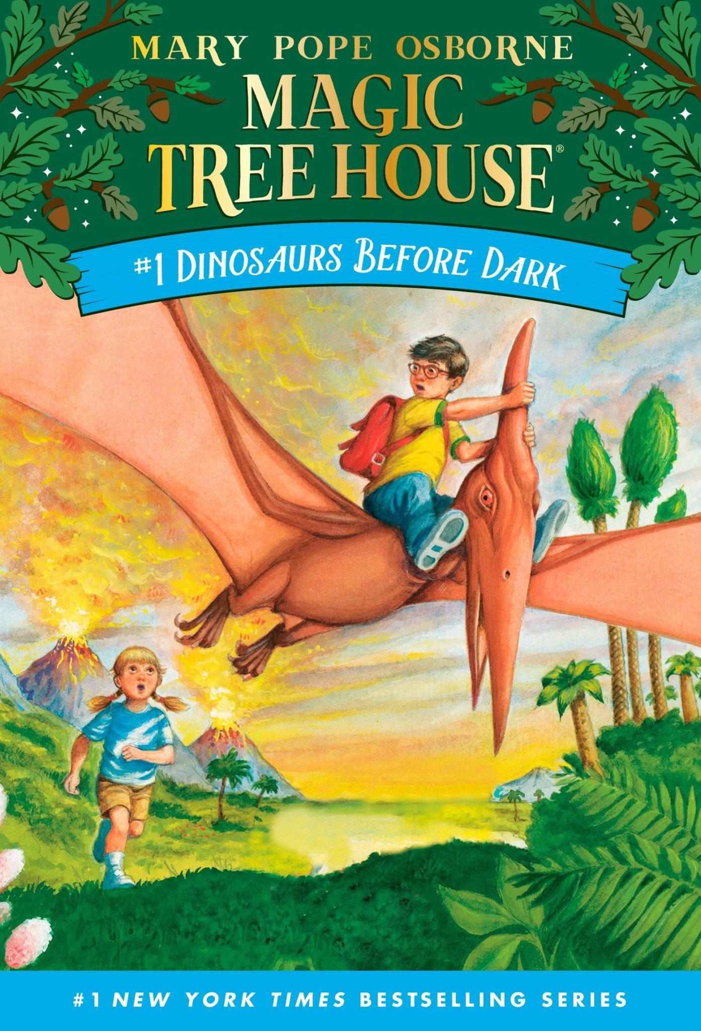 Magic Tree House books 1