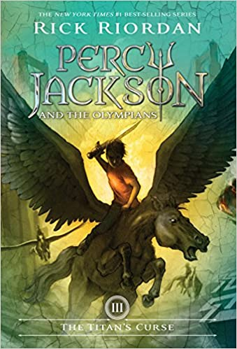 Percy Jackson books 3