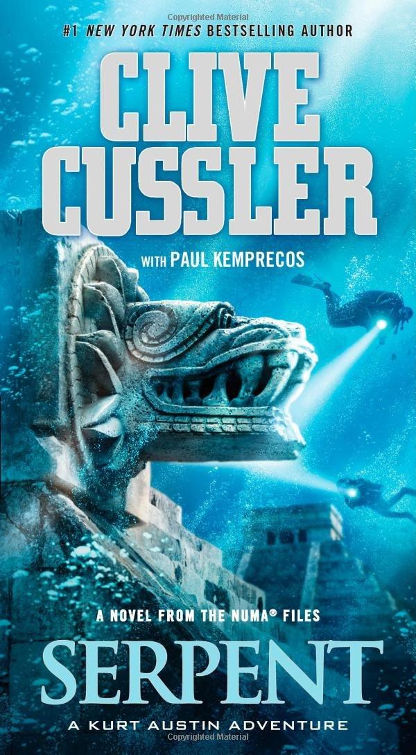 Clive Cussler books 17