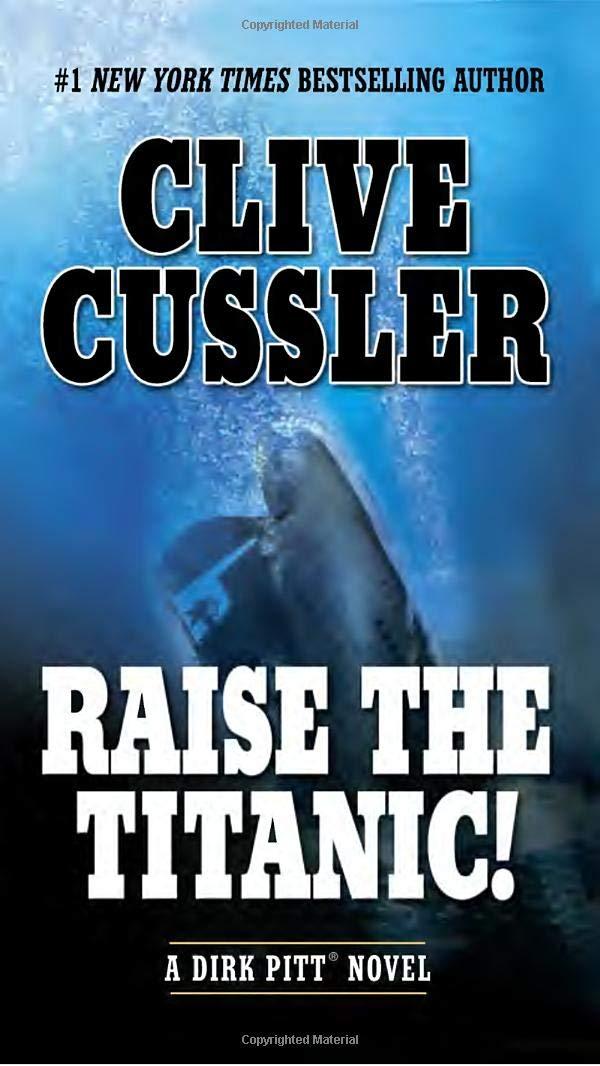 Clive Cussler books 3