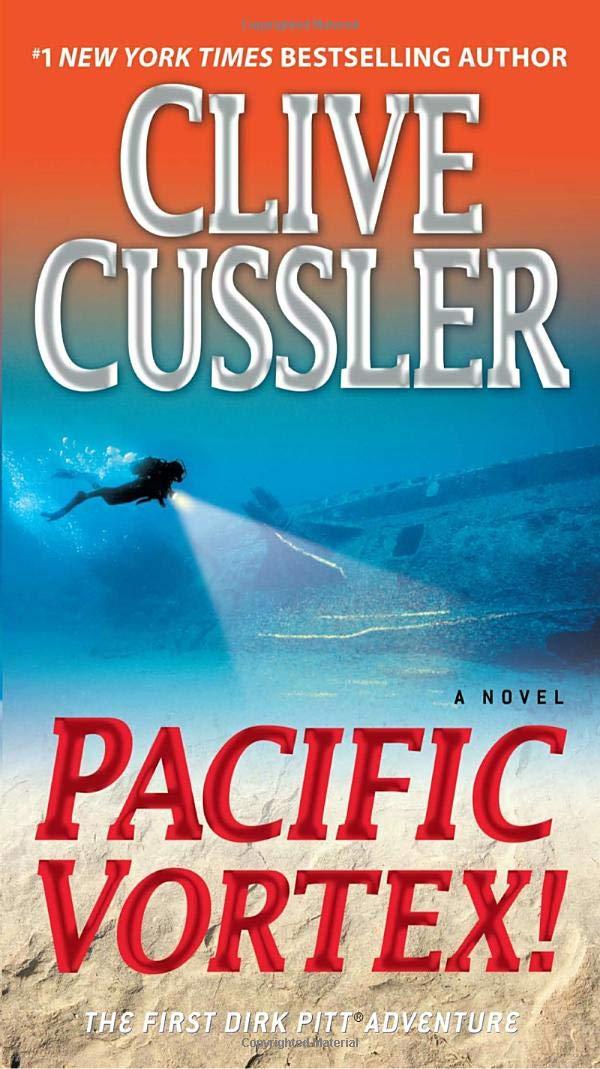 Clive Cussler books 7