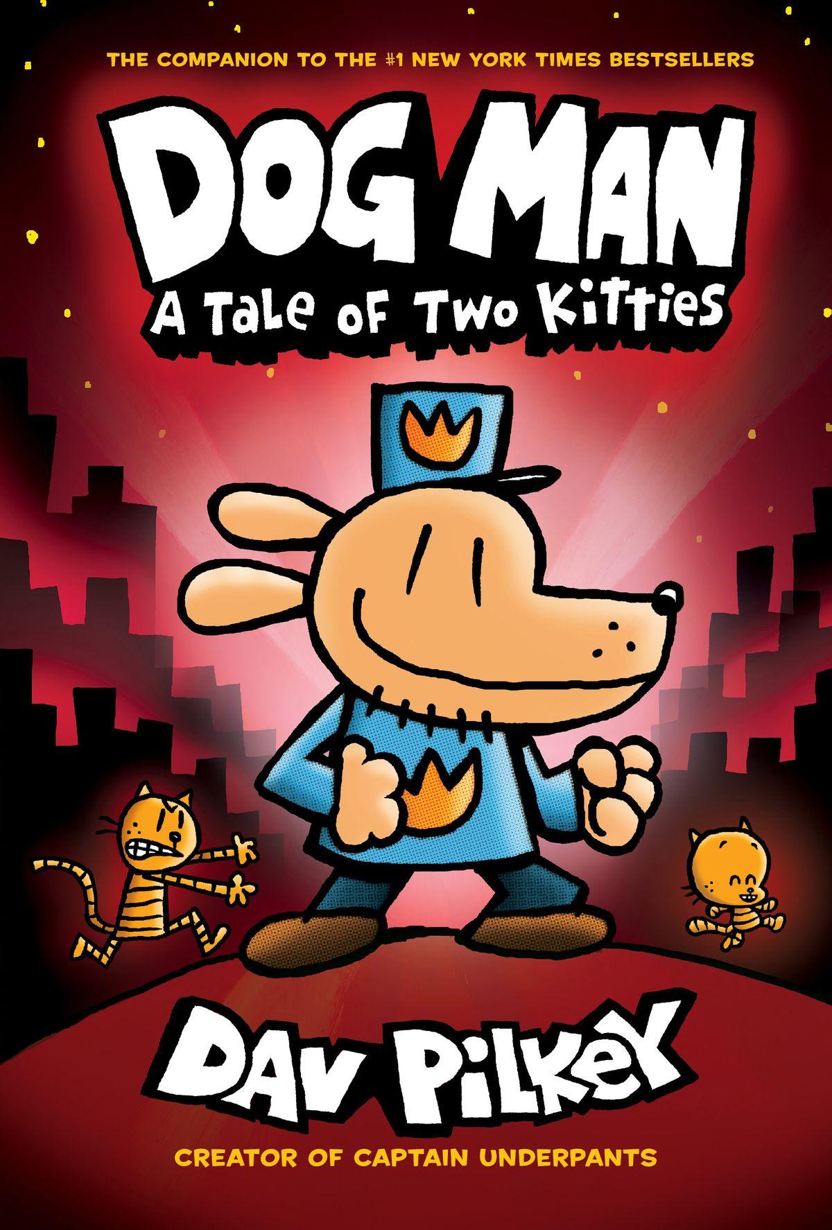 Dog Man books 3