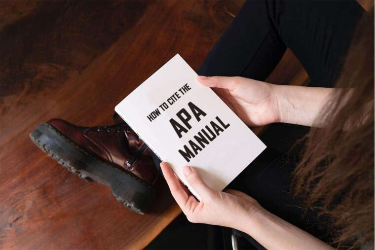 How To Cite The APA Manual