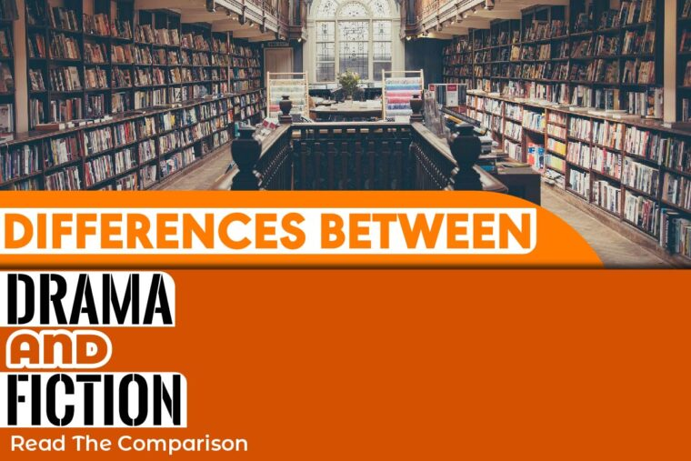 differences between drama and fiction
