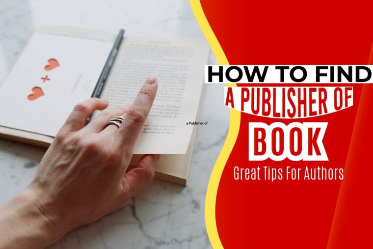 how to find a publisher of book