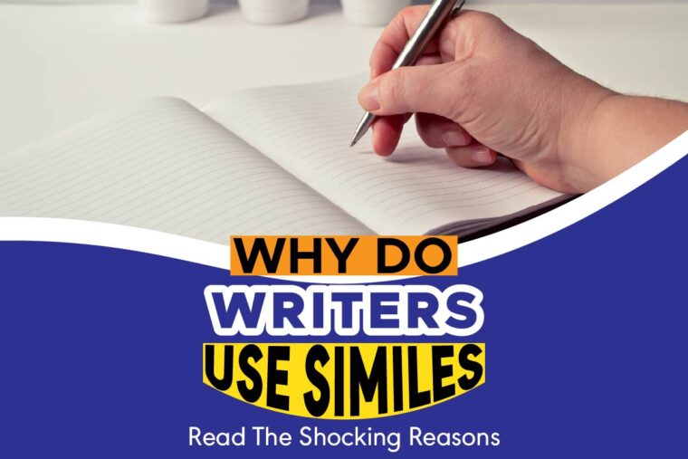 why do writers use similes