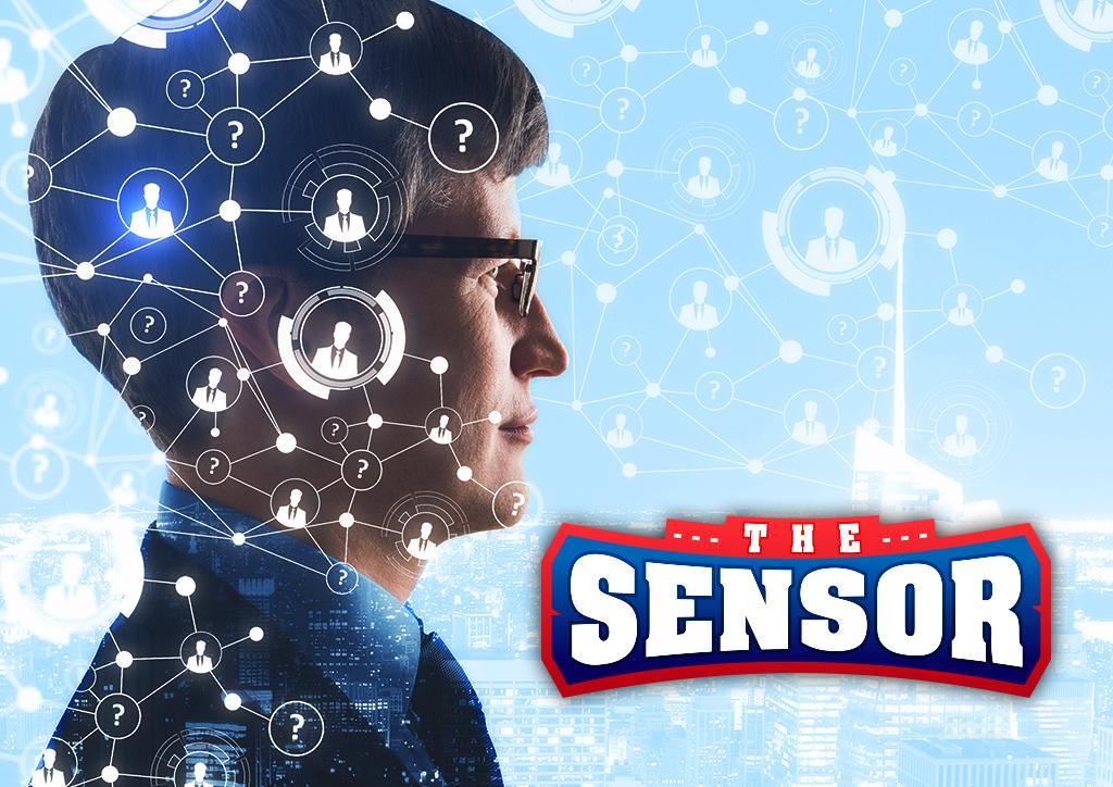 the sensor